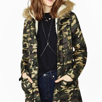 Ready Charge Camo Anorak