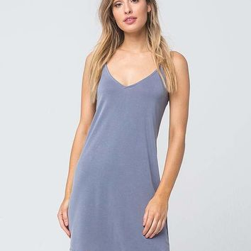 FULL TILT Cross Back Slip Dress | Short Dresses