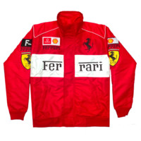 "Vintage Culture ""Ferrari"" Formula F-1 Racing Jackets"