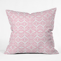 Lisa Argyropoulos Pastel Retro Throw Pillow