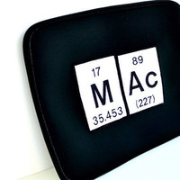 Mac Laptop Case Periodic Table Chemical by YellowBugBoutique