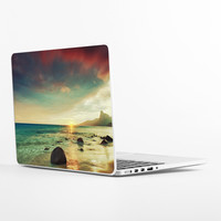 Sunset Beach Laptop Skin
