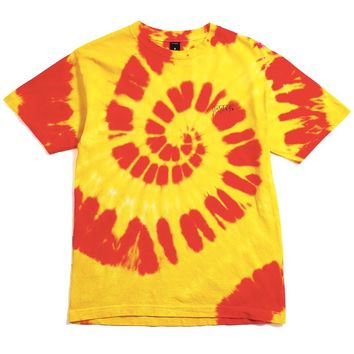 Sound & Fury Logo T-Shirt Yellow Tie-Dye