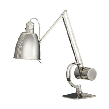 Dave Desk lamp | polished Nickel