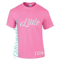 Big Little Twins * Sorority Sister *  Tee Shirt