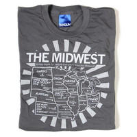 Midwest Map T-Shirt