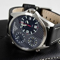 Torgoen T08101 Carbon Fiber Watch