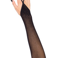 Alice Finger Loop Fishnet Sleeves