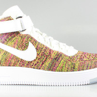 Nike Men's Air Force 1 Mid Ultra Flyknit Multicolor