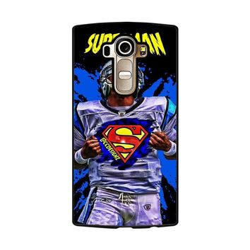 Superman Cam Newton Carolina LG G4 Case