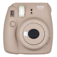 Fujifilm Instax Mini 8+ Instant Film Camera - International Version(Cocoa) - Walmart.com