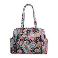 Vera Bradley® Stroll Around Parisian Paisley Baby Bag in Black/Multicolor