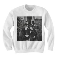 5SOS Sweatshirt Sweater - 5 Seconds of Summer Sweater Sweatshirt Shirt - 5 sos - Fan0033 5sos On The Stoop