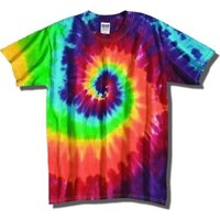 Tie Dyes Men's Tie Dyed Performance T-Shirt H1000