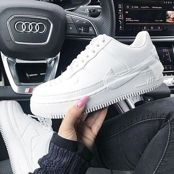 NIKE AIR FORCE 1 Fashion New Women Men Running High Quality Shoes White