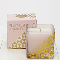 Fringe Studio Peony Rose and Vanilla Candle