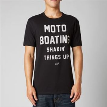 Fox Racing Dusted Moto Boating Premium Slim Fit T-shirt for Men 12750-001