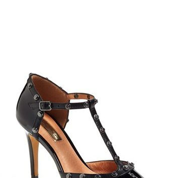 Women's Halogen 'Martine' Studded T-Strap Pump,