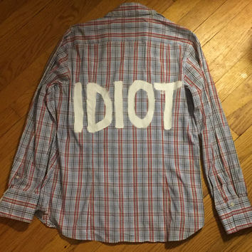 Michael Clifford Idiot Flannel