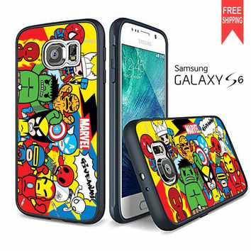 Action Marvel Assamble Samsung Galaxy S6 edge Case