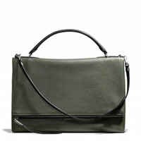 the urbane bag in pebbled leather