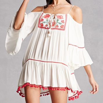 Z & L Europe Embroidered Dress