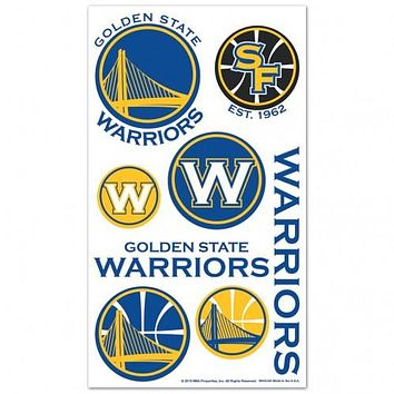 Golden State Warriors Temporary Tattoos