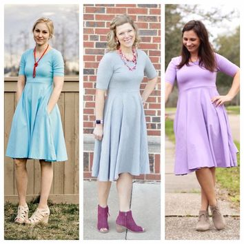 Spring Colored Mama Millie Dresses