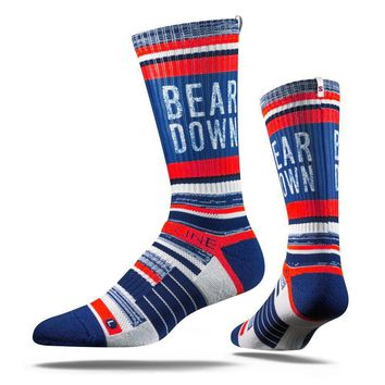Strideline 2.0 Chicago Cubs - Bear Down - Adult Crew Socks