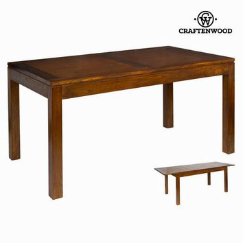 Extendible forest dining table - Chocolate Collection by Craften Wood