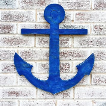 Nautical Wedding Signs, Guest Book Sign, Destination Wedding guest book, large supersized anchor sign cut out, boating, beach house decor