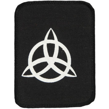 Led Zeppelin Men's John Paul Jones Symbol Screen Printed Patch Black