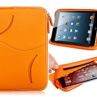Protective Sleeve Case with Mount Stand Function for iPad Mini (Orange)