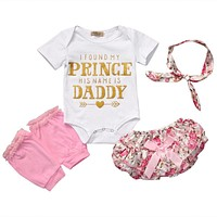 Cute Newborn Infant Baby Girl Clothes