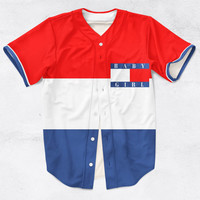 Baby Girl Custom Made 3D Sublimation Print Baseball Jersey All Sizes