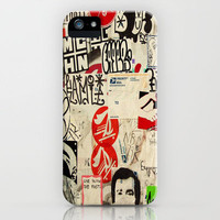 Convo Info Splatter iPhone Case by RichCaspian | Society6
