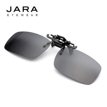 JARA 2017 Polarized Fit Over Glasses Sunglasses With Frame Clip On Sunglasses Flip Up Eyeglasses Wrap Over Eyewear HD Night Visi