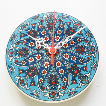 wall clocks, home and living, ceramic clocks