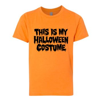 Unisex This Is My Halloween Costume Shirt