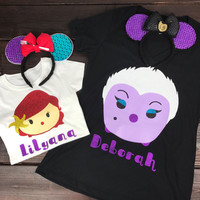 Ursula From The Little Mermaid Tsum Tsum Shirt
