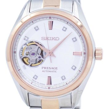 Seiko Presage Automatic Japan Made Diamond Accent SSA810 SSA810J1 SSA810J Women's Watch