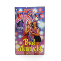Bad Moonlight R. L. Stine Book Vintage 1995 Fear Street Super Chiller Young Adult Paperback