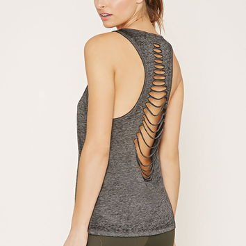 Active Cutout-Back Tank | Forever 21 - 2000153492