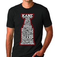 CHICAGO BLACKHAWKS STANLEY Cup Names T Shirt Get them by IzzyTees