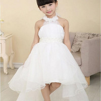 Baby girl princess tutu long dress Clothes