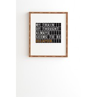 Matt Leyen Train Of Thought Framed Wall Art