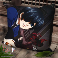 New Kuroshitsuji Anime Dakimakura Square Pillow Cover SPC44