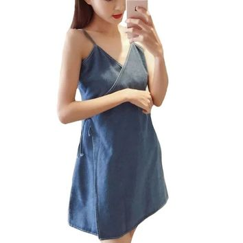 Simply Put Denim Mini Dress