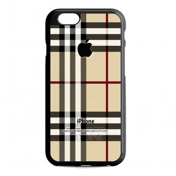 Burberry, Patterns Apple For iPhone 6 case