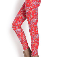 Paisley Perfection Leggings